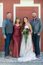 parents & bride & groom